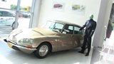 Fantomas v novém autosalonu Citroën v Hradci Králové