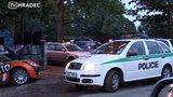 Rvačka taxikářů na festivalu Pleasure Island v Hradci Králové