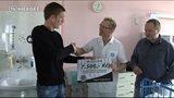 Votroci předali dar dětské chirurgii a traumatologii