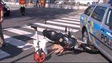 Motorkář ujížděl před policií