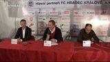 Tisková konference FC Hradec Králové - FK Jablonec