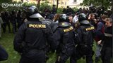 Velký policejní zásah v Josefově