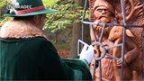 Odhalení památníku Svatého Huberta