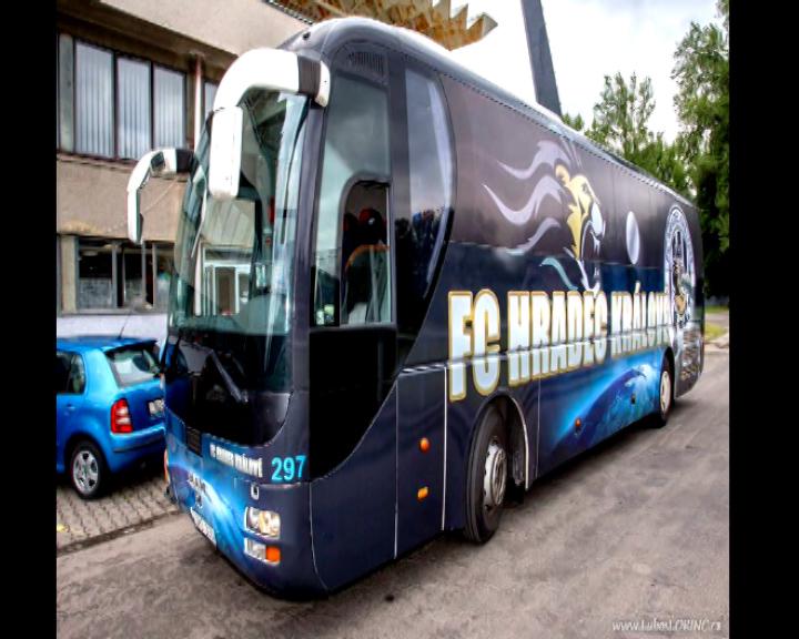 Křest nového autobusu